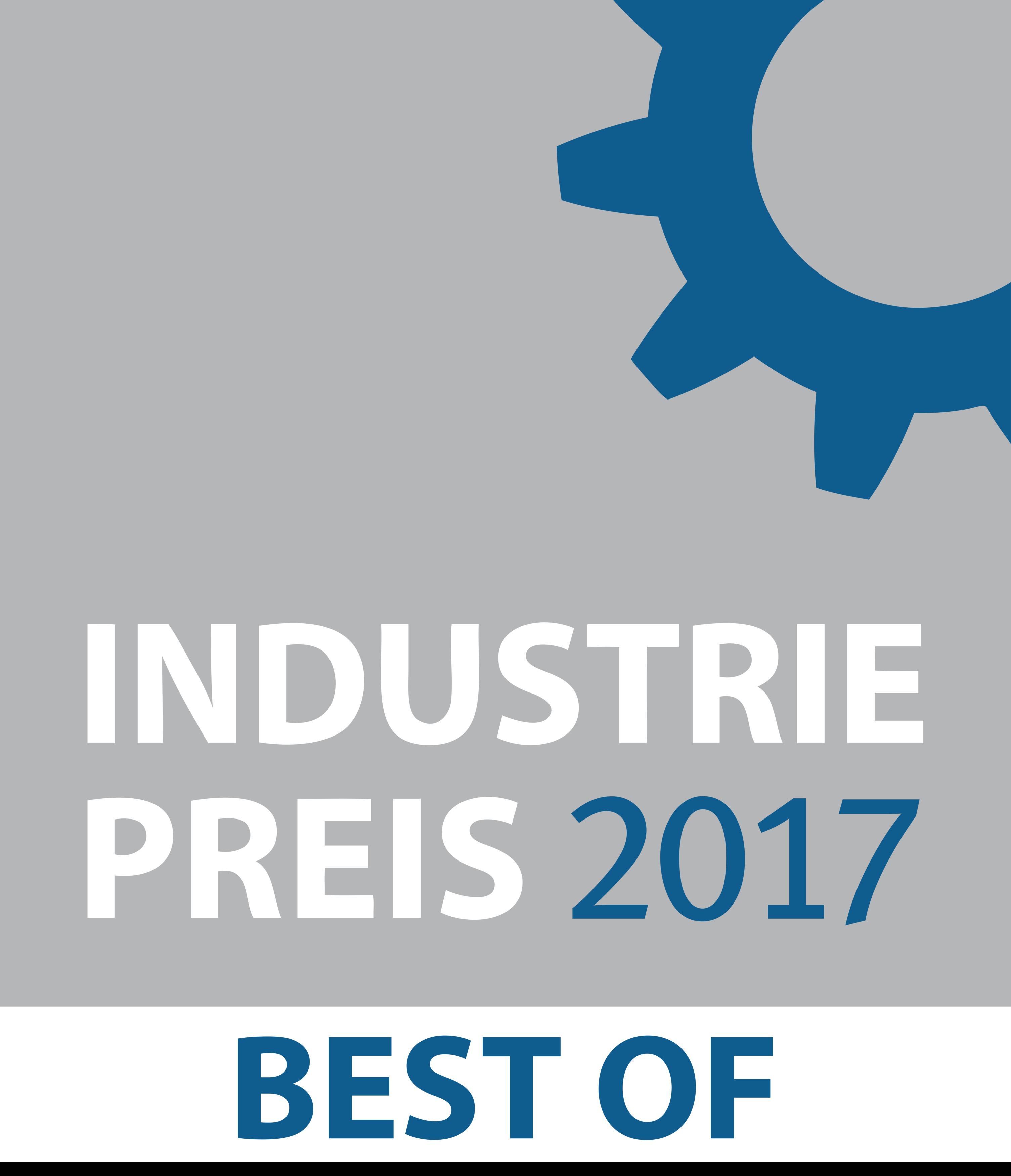 Logo Industriepreis 2017